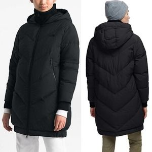 The North Face Womens Albroz Parkina Hooded Jacket